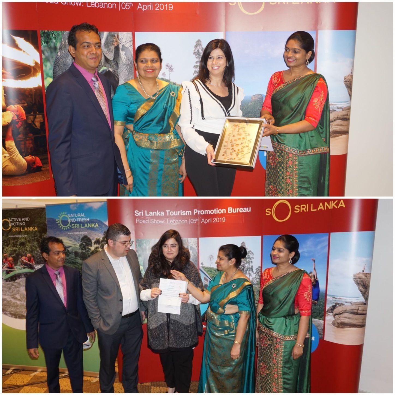 Premier Sri Lankan Travel Trade Roadshow in Beirut